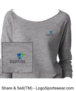 Next Level Ladies French Terry Raglan Design Zoom